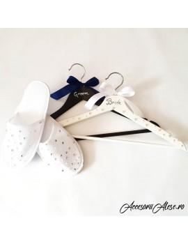 set papuci mireasa Umerase miri personalizate nunta