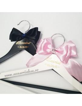 Umerase miri personalizate nunta scris rose gold