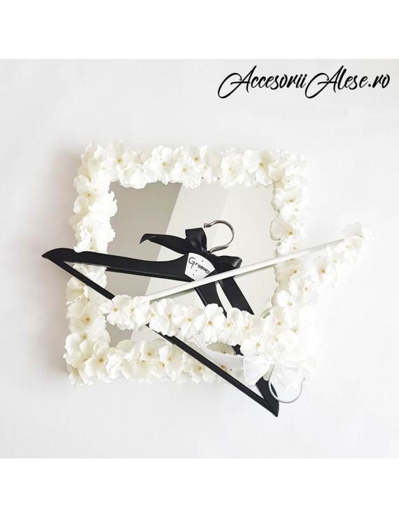 Umerase miri/nunta flori bleumarin
