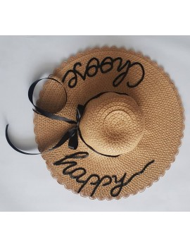 Palarie personalizata, cu mesaj Choose happy