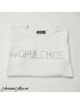 Tricou personalizat cu cristale - mesaj