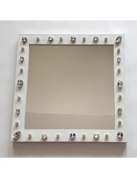 Oglinda miresei cristale alba nunta mireasa