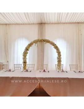 Arcada cu flori de inchiriat pentru evenimente - nunta, botez