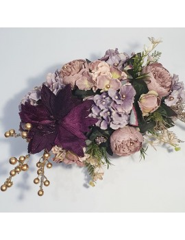 Aranjament flori Craciun - cadou inedit