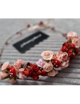 Coronita flori mireasa/domnisoara de onoare, de nunta