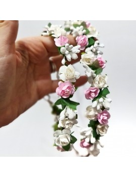 set coronite flori mama fiica