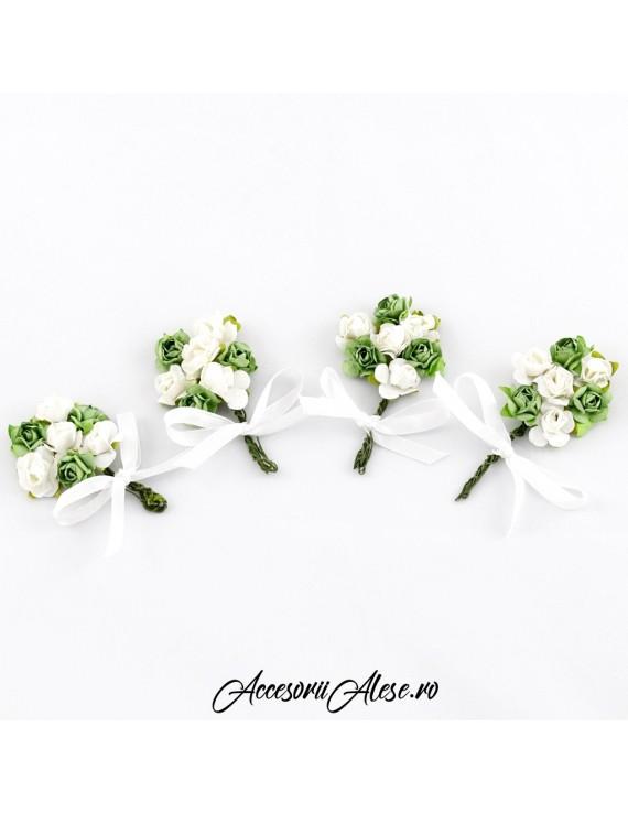 Cocarde flori cavaleri de onoare, mire sau nas