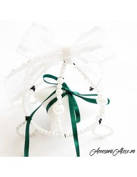Pernuta verighete nunta verde- caleasca