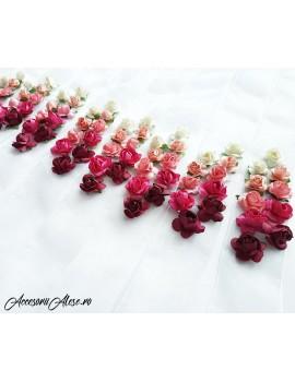 Corsaje nunta domnisoare de onoare cu flori