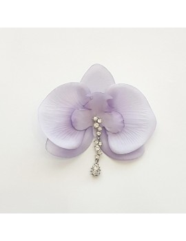 Cercel Orhidee lila